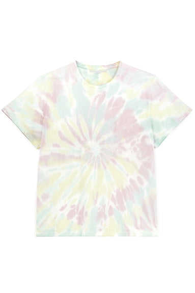 Tie Dye Spiral T-Shirt in Multicolor