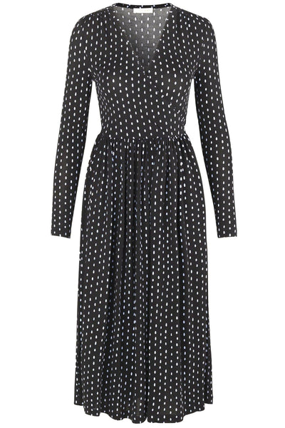 Alina Dress in Oval Dot