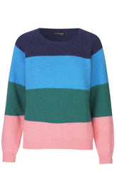 Frede Sweater in Stripes Multi