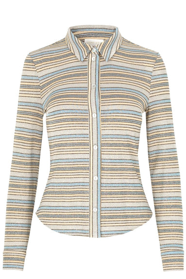 Jana Shirt in Stripes Blue