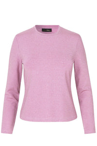 Maya Top in Rose Pink Lurex