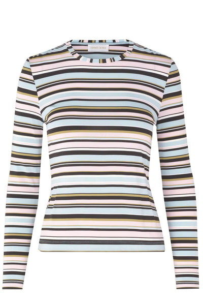 Maya Top in Stripes Multi