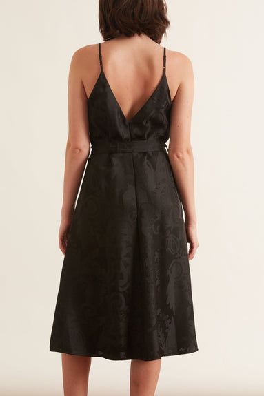 Gianna Dress in Black Lace