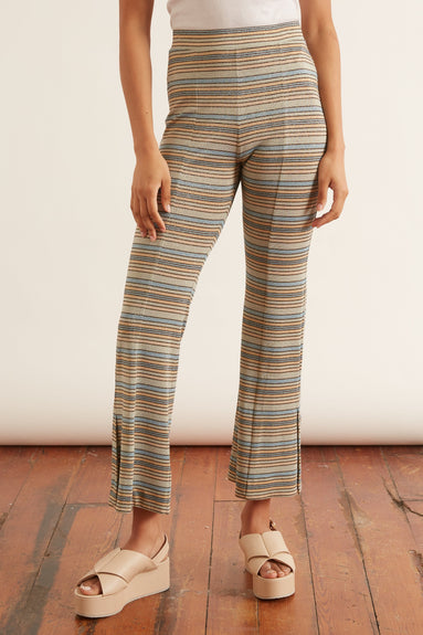 Melanie Pant in Stripes Blue