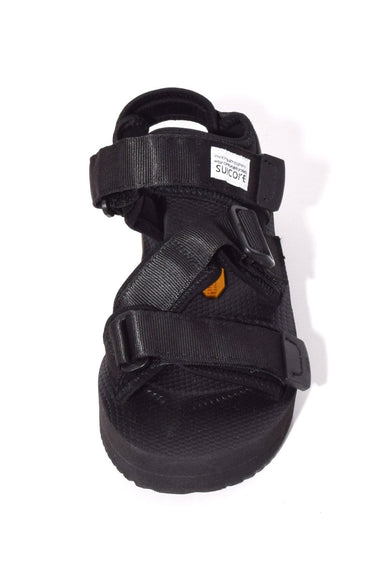 Kisee V Sandal in Black