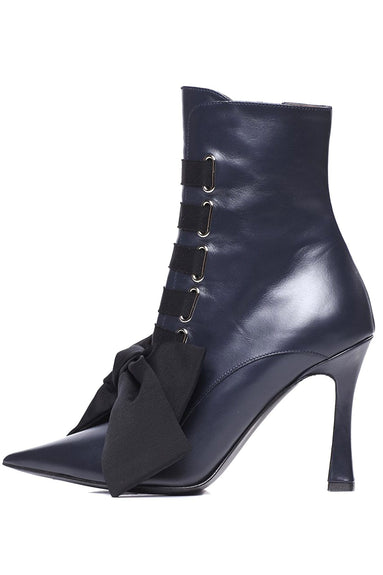 Farren Boot in Navy/Black