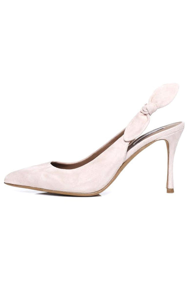 Millie Pump in Dusty Pink Suede