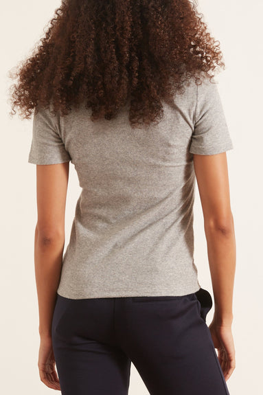 Dry Loop Terry Baby T in Heather Grey
