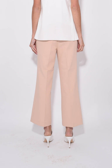 Anson Stretch Cropped Bootcut Pant in Blush