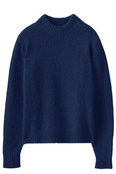 Cozette Alpaca Easy Pullover in Navy