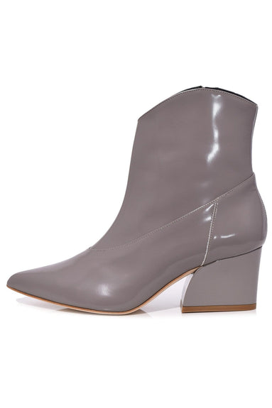 Dylan Polished Calf Boot in Cement