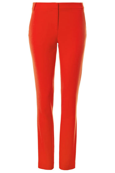 Triacetate Full Length Beatle Pant in Red