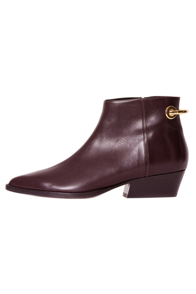 West Baby Calf Boot in Prune
