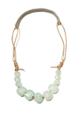 Cord Classic Tones Necklace in Mist/Light Grey