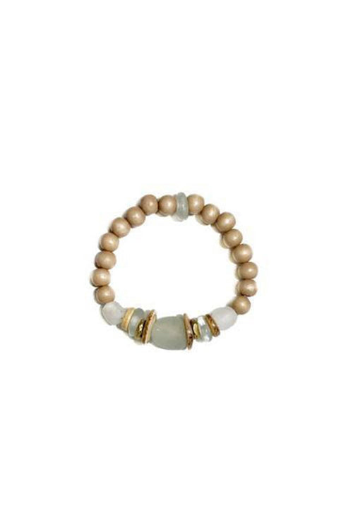 Single Stack Tones Bracelet in Mist