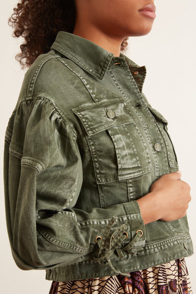 Atticus Jacket in Army