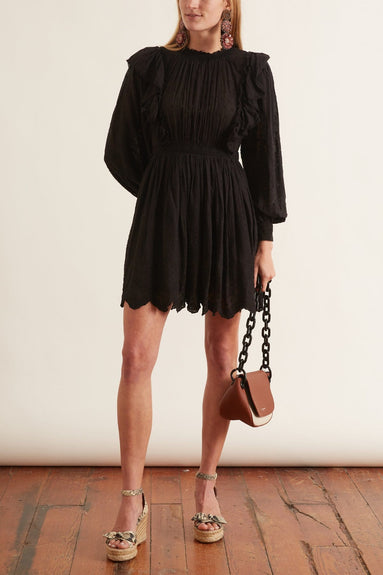 Dorithie Dress in Noir