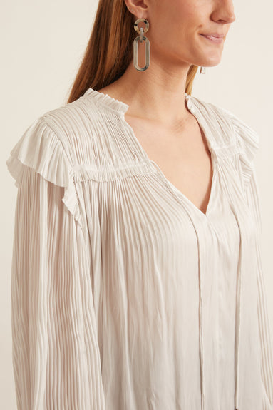 Emilda Blouse in Dove