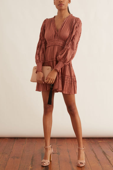 Gemma Dress in Copper