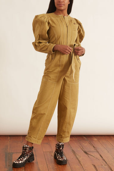 Leo Jumpsuit in Fennel Seed