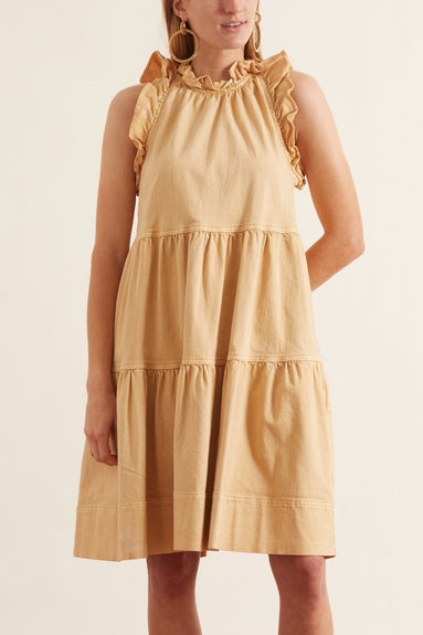 Talita Dress in Khaki