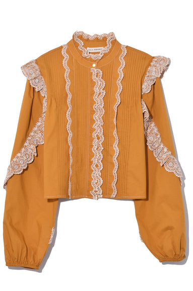 Adelaide Blouse in Ochre