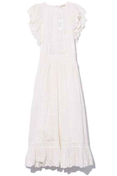 Bea Dress in Blanc