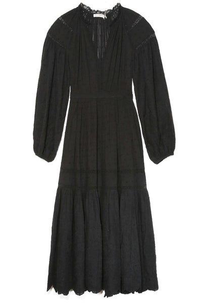 Bettina Dress in Noir