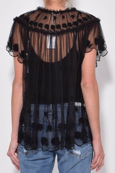 Bisou Top in Raven