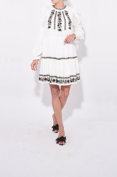 Ceres Dress in Blanc