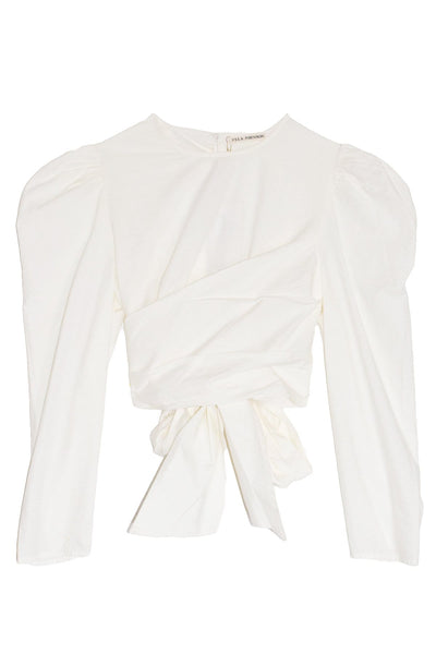 Eden Blouse in Blanc
