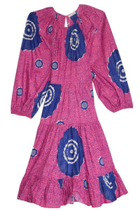 Emelyn Dress in Fuchsia