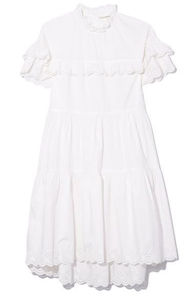Leonie Dress in Blanc