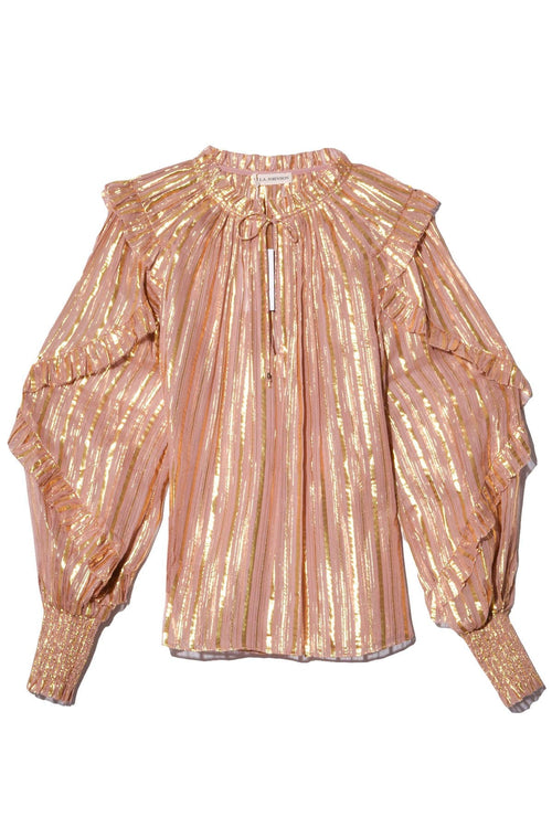 Lucinda Blouse in Rose