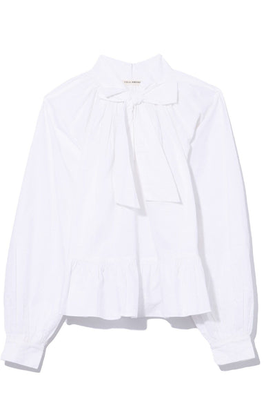 Queenie Blouse in Blanc