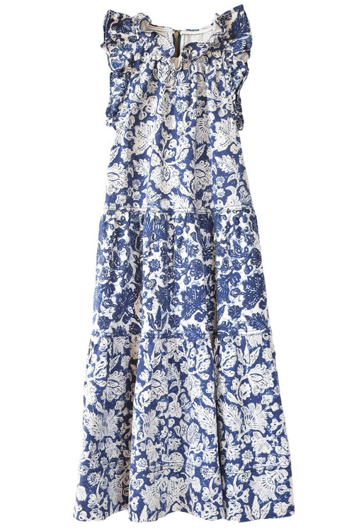 Talita Dress in Floral Patchwork