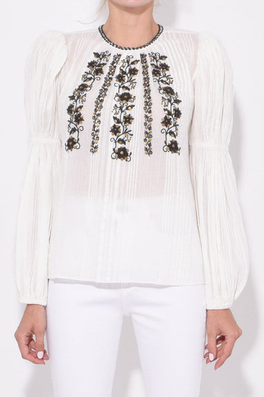 Vida Blouse in Blanc