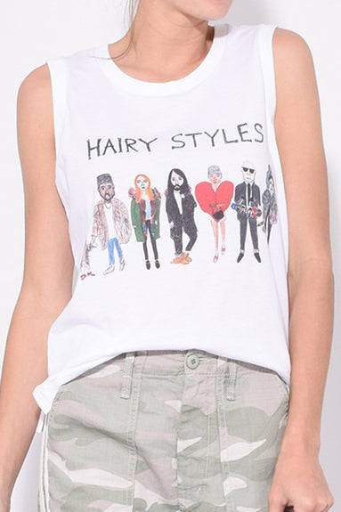 Hairystyles Tank Top