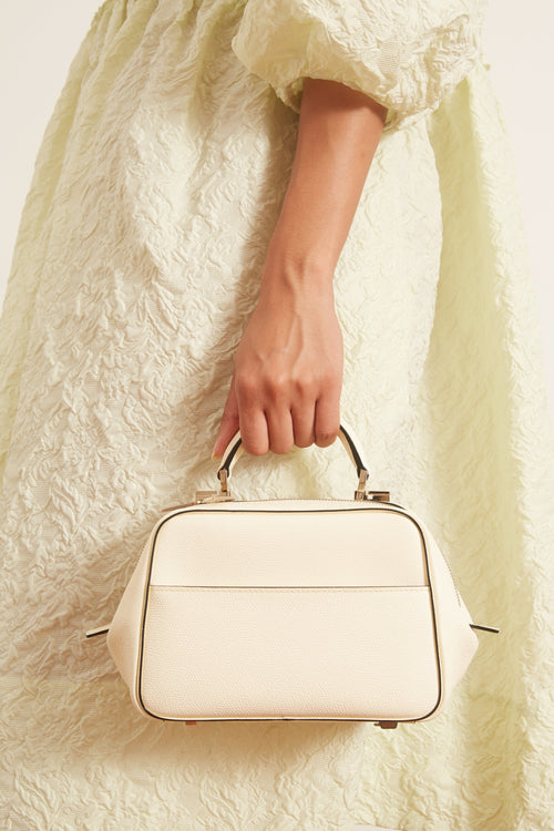 Serie S Mini Bag in White