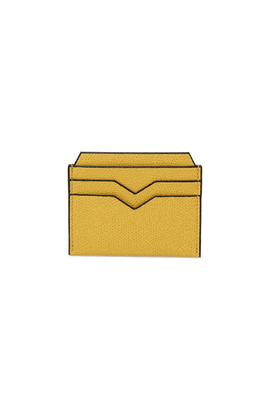 Card Case in Ochre