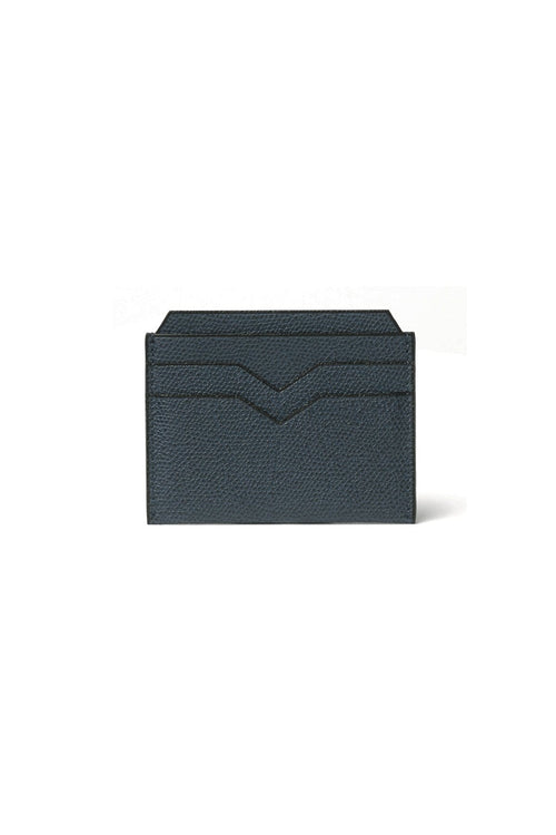 Card Case in Petroleum Blue