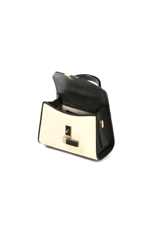 Iside Micro Bag in White/Black