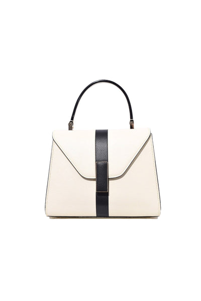 Iside Mini Bag in White/Black