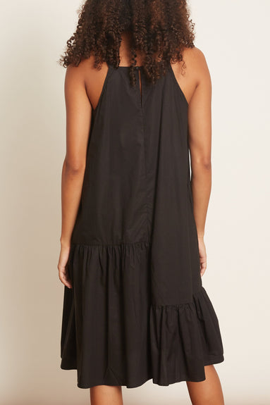 Agua Cotton Dress in Black