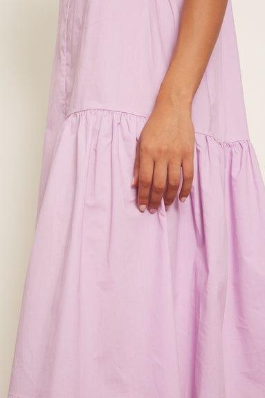 Agua Cotton Dress in Lilac
