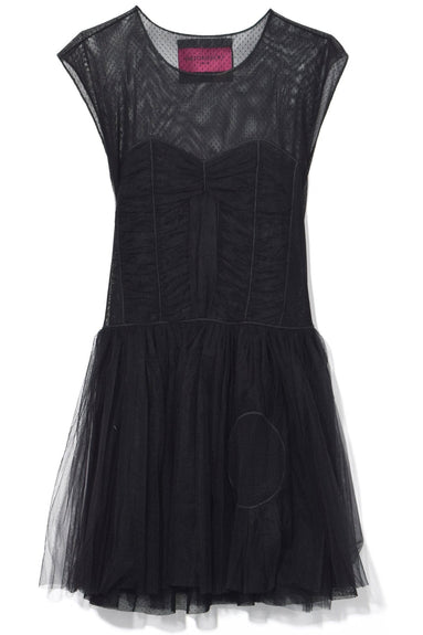 Dress With Hole in Black