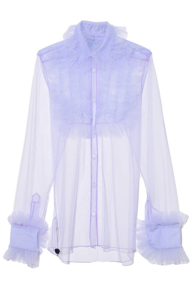 Victorian Girl Top in Lavender