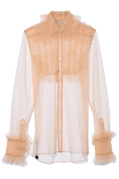Victorian Girl Top in Ochre
