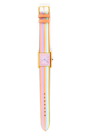 Vintage Watch in Pastel Rosette/Unicorn