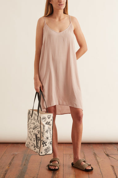 Linden Dress in Nude